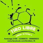 tiro libre cancha de fútbol 5 en montevideo