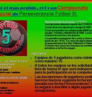 Campeonato en Perseverancia F5
