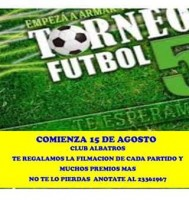 Campeonato de Fútbol 5 en Albatros