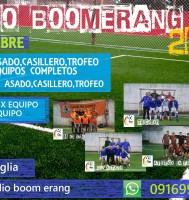 Campeonato de fútbol 5 en Boomerang Montevideo