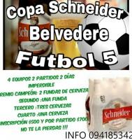 Campeonato de Fútbol 5 en Belvedere