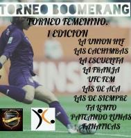 Torneo Femenino en Boomerang